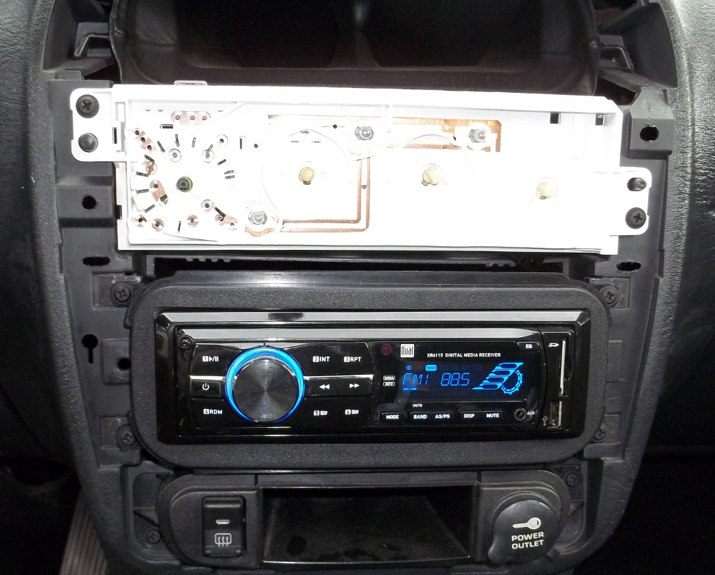 Installing An Aftermarket Stereo Into A Dodge Neon I May Have Boss Car Wiring Harness 100 6547